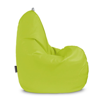 Puff Pera Relax Polipiel Indoor Verde Happers | Happers.es