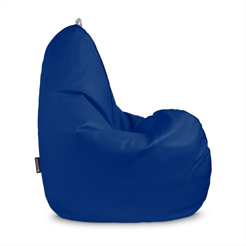 Puff Pera Relax Polipiel Outdoor Azul Happers