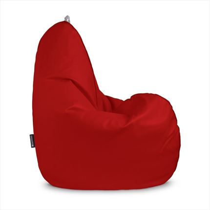 Puff Pera Relax Polipiel Outdoor Rojo Happers | Happers.es