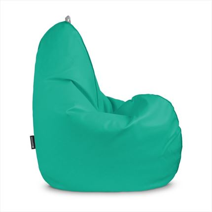 Puff Pera Relax Polipiel Outdoor Turquesa Happers | Happers.es