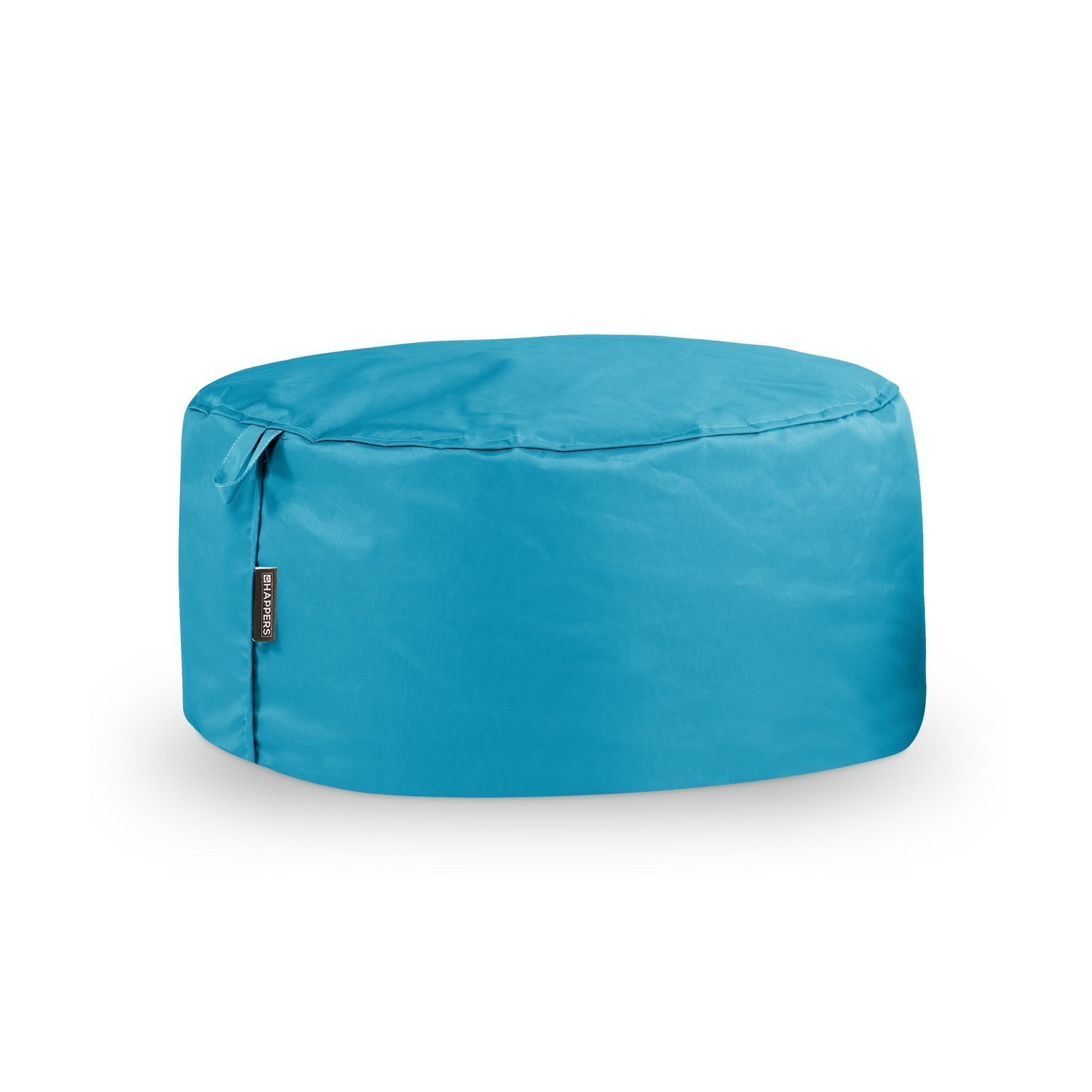 Puff Redondo Naylim Impermeable Turquesa Happers