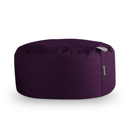 Puff Redondo Polipiel Indoor Morado Happers | Happers.es