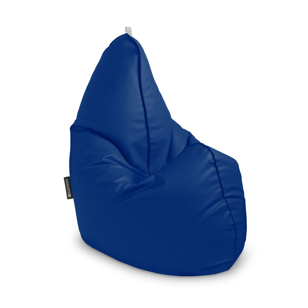 Puff Pera Relax Polipiel Outdoor Azul Happers (1)