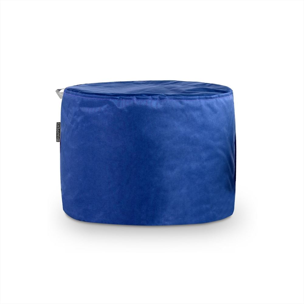 Puff Taburete Naylim Impermeable Azul Happers