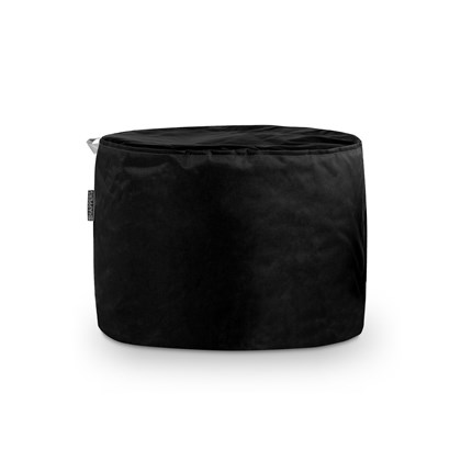 Puff Taburete Naylim Impermeable Negro Happers | Happers.es