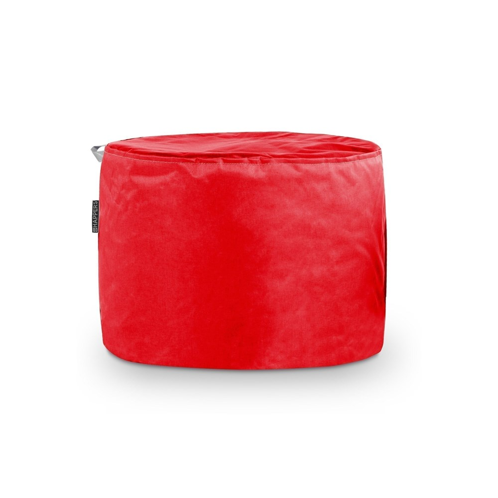 Puff Taburete Naylim Impermeable Rojo Happers