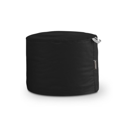 Puff Taburete Polipiel Indoor Negro Happers | Happers.es