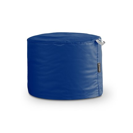 Puff Taburete Polipiel Outdoor Azul Happers | Happers.es