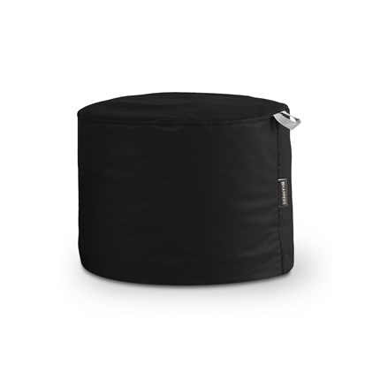 Puff Taburete Polipiel Outdoor Negro Happers | Happers.es