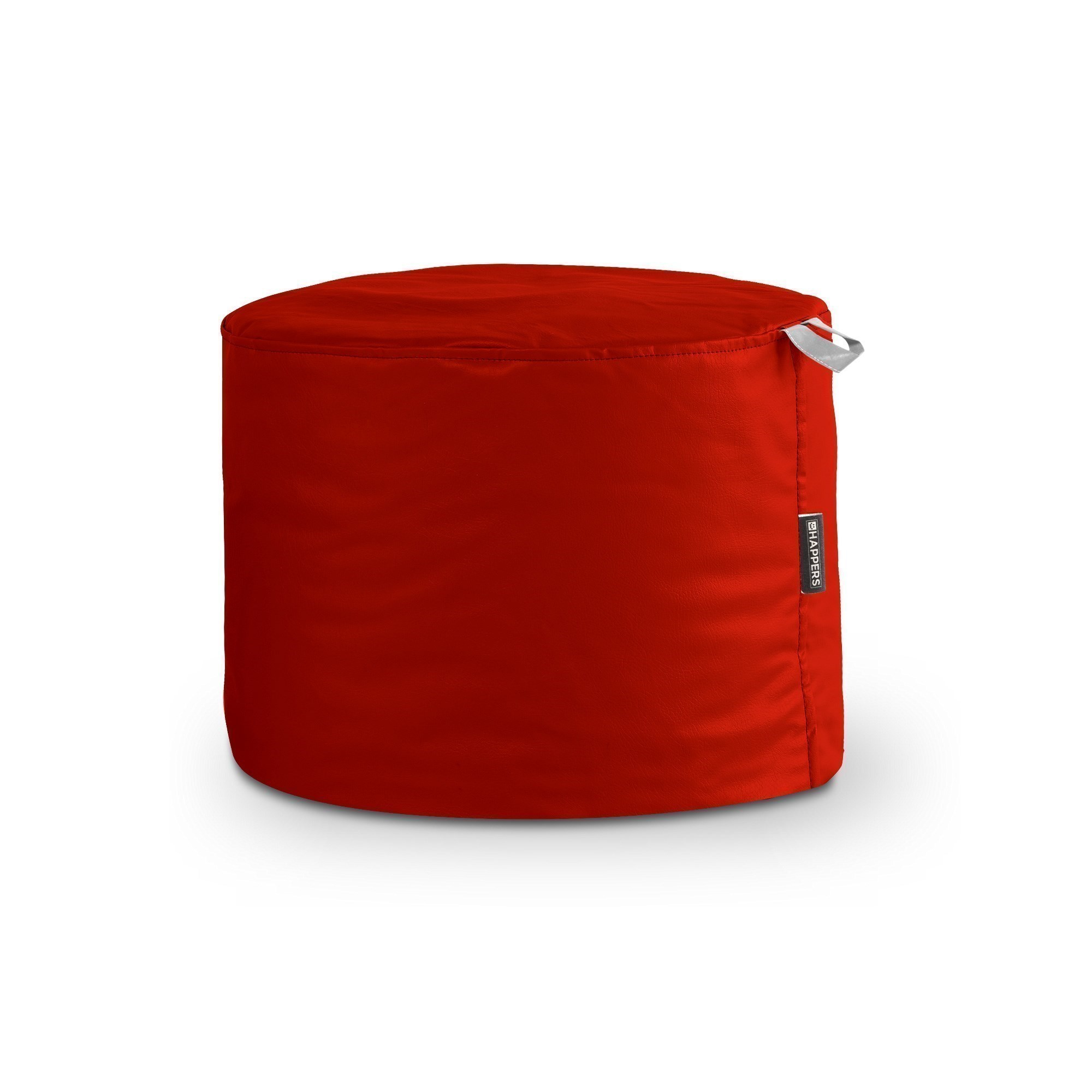 Puff Taburete Polipiel Outdoor Rojo Happers