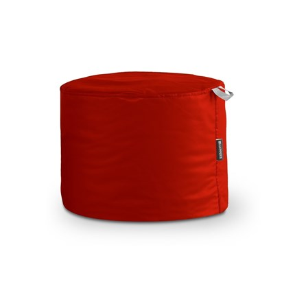 Puff Taburete Polipiel Outdoor Rojo Happers | Happers.es